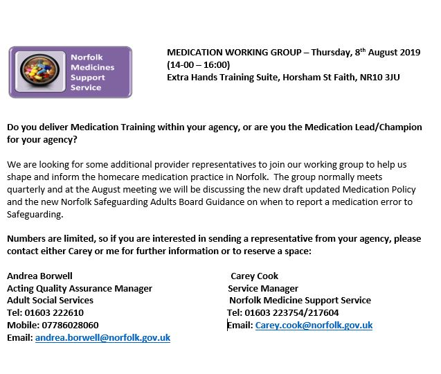 medication working group